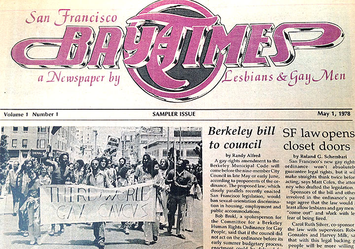from Ezra gay newpaper san francisco