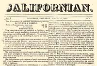 California's 1st Paper